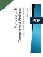 Monopolio Competencia Perfecta Fundamentos de Economía