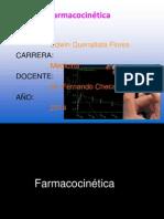 d) Farmacocinetica