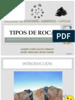 Tipos de Roca