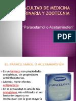 Paracetamol o Acetaminofen