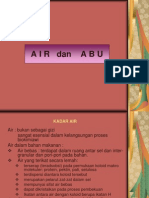 2. AIR dan ABU