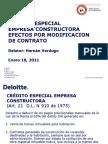 Deloite Credito Especial Constructoras