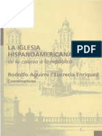 La Iglesia Hispanoamericana, De La Colonia a La República - Rodolfo Aguirre y Lucrecia Enríquez (Coord.) (1)