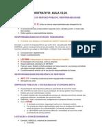 Direito Administrativo 15.04 Áudio