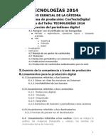 TECNOLOGÍAS 2014