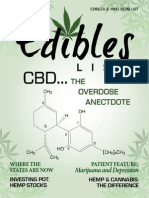 Edibles List Magazine May / June Issue