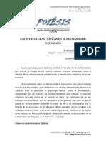 Las Estructuras Clinicas en El Psicoanalisis Lacaniano