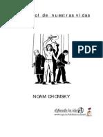 Chomsky - El Control de Nuestra Vidas