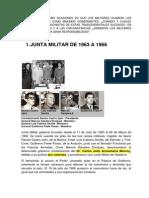 1- JUNTA MILITAR-1963-1966