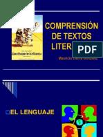 Comprensión de Textos Literarios