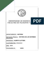 Sistemas Politicos Programa 2013