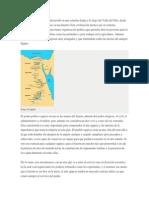 La Civilización Egipcia Se Desarrolló en Una Estrecha Franja a Lo Largo Del Valle Del Nilo