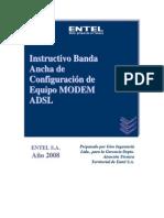GATT in 0308 006 Instructivo BA de Configuracion Equipo MODEM ADSL Aztech 600 EU-1