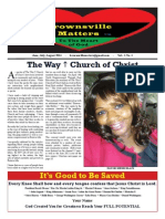 Brownsville Matters Newspaper Vol 1 Issue 1