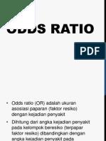 Odds Ratio