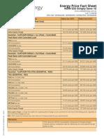 Energy Price Fact Sheet