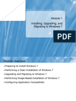 6292A_01Installing, Upgrading, And Migrating to Windows 7