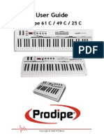 Manual Prodipe 61c 49 c 25 c English 1