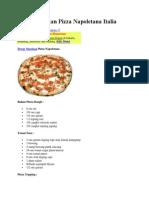 Resep Masakan Pizza Napoletana Italia