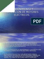 Mantenimiento y Reparacion de Motores Electricos