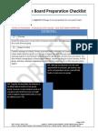 lifer preparation checklist draft