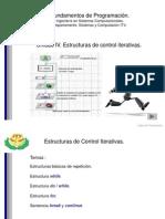 Unidad IV Estructuras de Control Iterativas