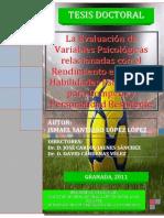 La Evaluacion de Factores Psicologicos Futbol Autoconfianza