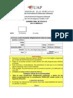 Examen Final Física III 2011 II