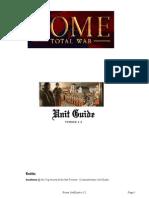 Rome UnitGuide v1.2
