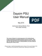 Daysim Manual