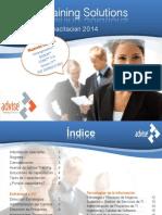 Advise Training Portafolio 2014
