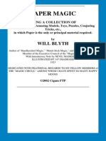 Will.blyth. .Paper.magic2