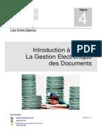 4-Introduction à La GED