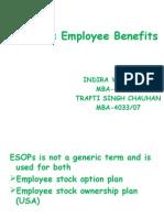 ESOPs as Employee Benefits
