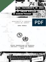 Cepis72-74-Asuncion, Paraguay-nuevos Metodos de Tratamiento