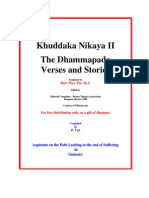 Dhammapada Verses Ans Stroies