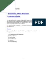 Fundamentals of Retail Management