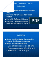6.MK Gizi or Penyakit Defisiensi Gizi Di Indonesia