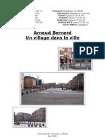 Arnaud Bernard Recherche