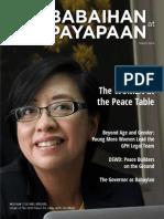 Kababaihan at Kapayapaan Issue No. 1