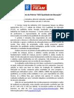 SESI lança Prêmio