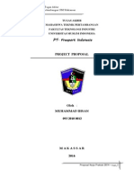 Proposal Tugas Akhir PT. FPI