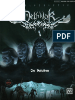 Dethklok - The Dethalbum Guitar Tablature Book