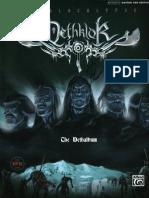 Dethklok - The Dethalbum Guitar Tablature Book
