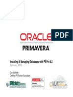 Databases With Primavera P6