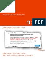 Microsoft Office 365 Customer Decision Framework