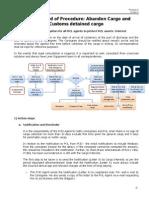 RCL Abandon Cargo Standard of Procedure v2