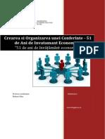 Crearea Si Organizarea Unei Conferinte - 51 de Ani de Invatamant Economic in Iasi