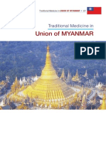 Traditional Medicine in Union of Myanmar