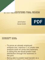 Spirit Aero Systems Final Presentation Web